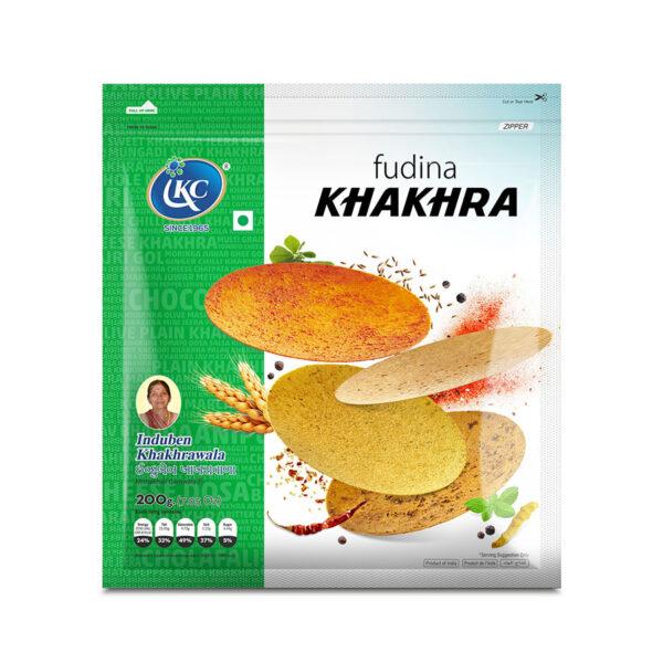 Buy Online Fudina Khakhra | Induben Khakhrawala | Get Latest Price & Recipe Of Fudina Khakhra.