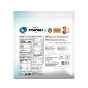 Buy Online Jeeralu Khakhra | Induben Khakhrawala | Get Latest Price & Recipe Of Jeeralu Khakhra.