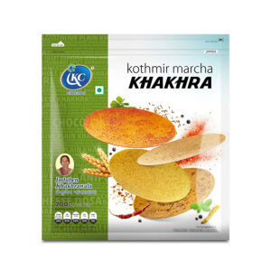 Buy Online Kothmir Marcha Khakhra | Induben Khakhrawala | Get Latest Price & Recipe Of Kothmir Marcha Khakhra.