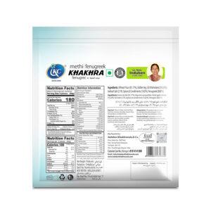 Buy Online Methi Khakhra | Induben Khakhrawala | Get Latest Price & Recipe Of Methi Khakhra.
